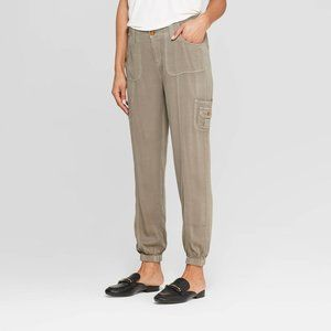 Knox Rose Mid-Rise Jogger Cargo Pants